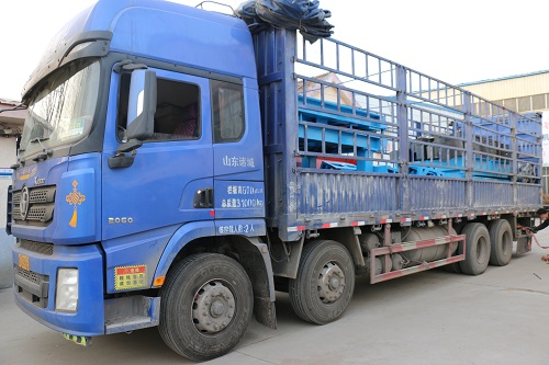 Shipment of the 8th vehicle of Sany Heavy Industry V-method automated molding line