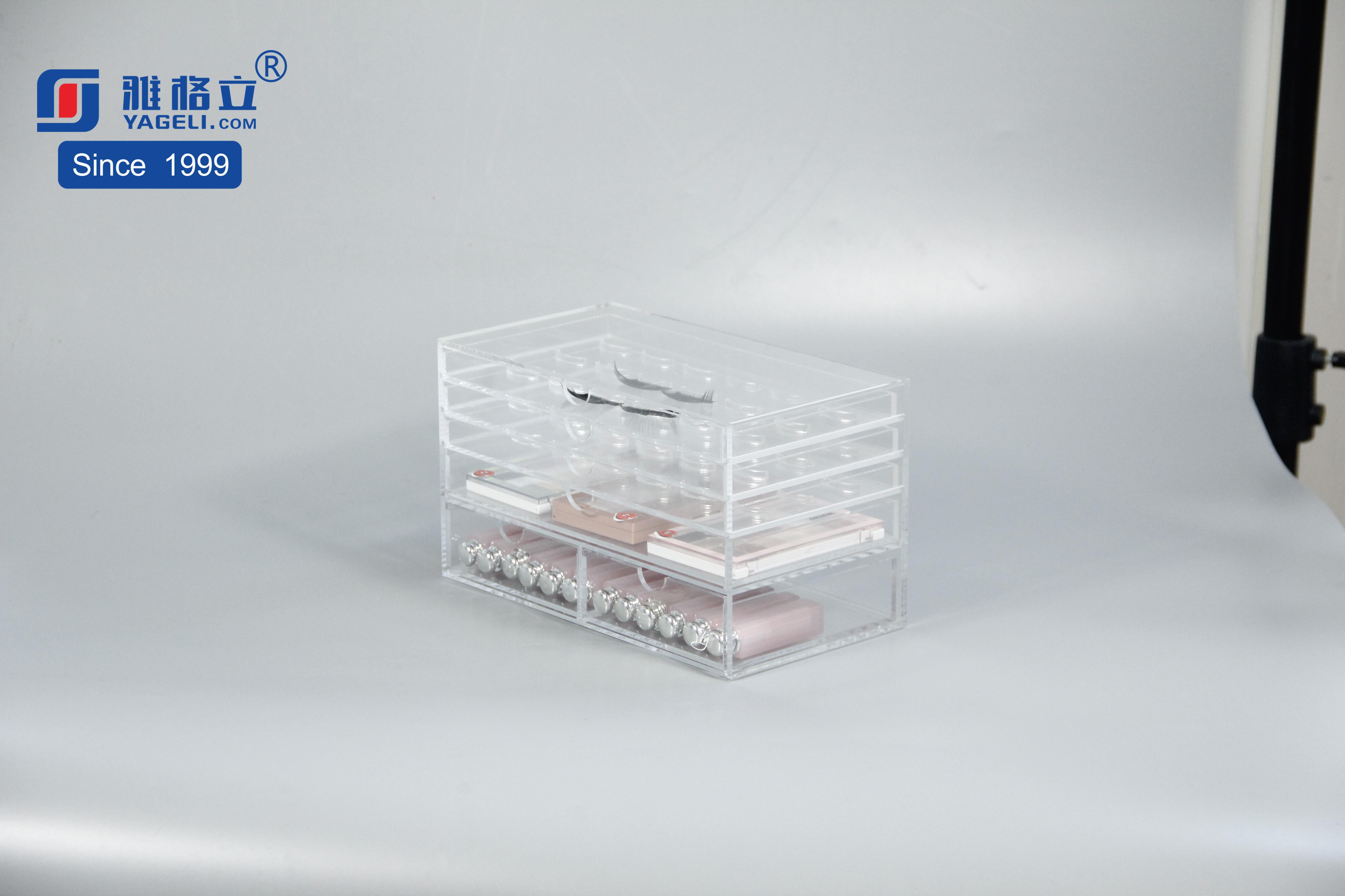 亞克力化妝品收納盒展示盒多功能
