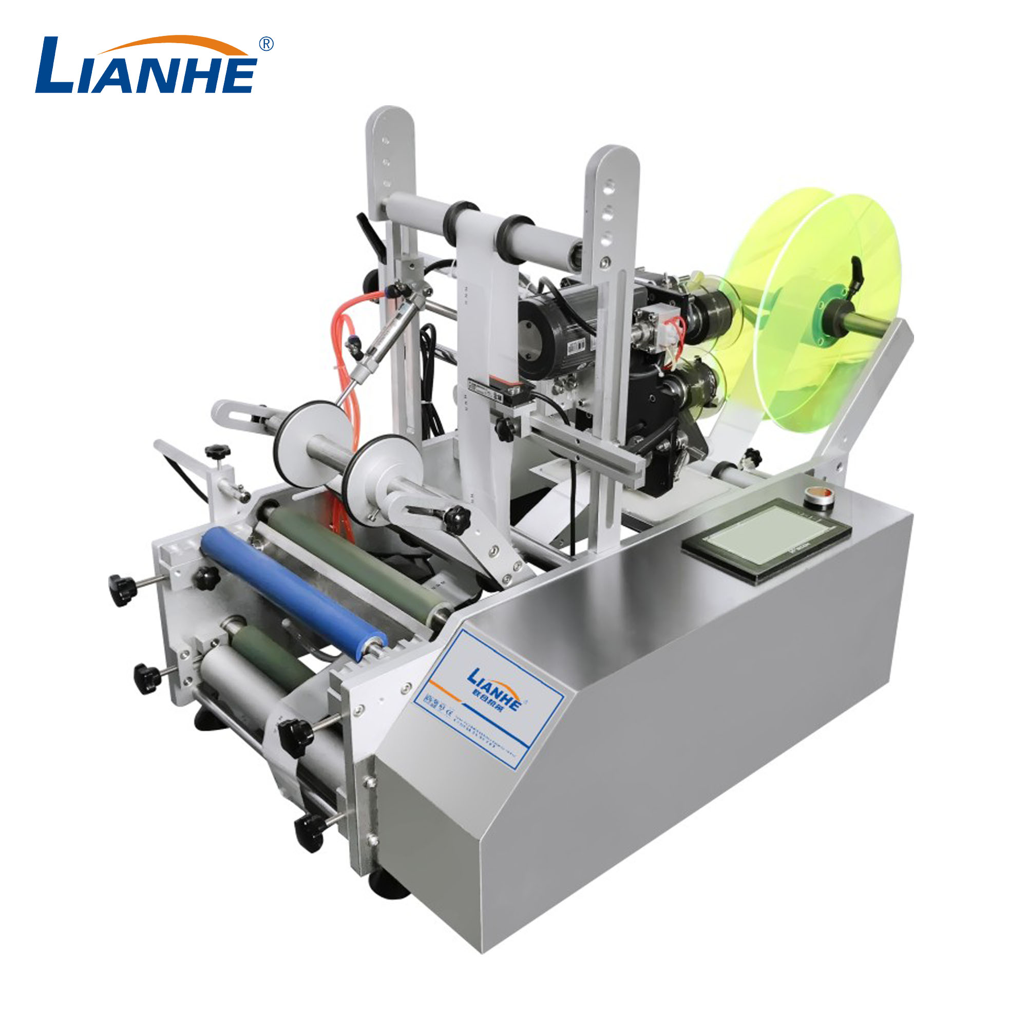 Semi-automatic Round Bottle Labeling Machine