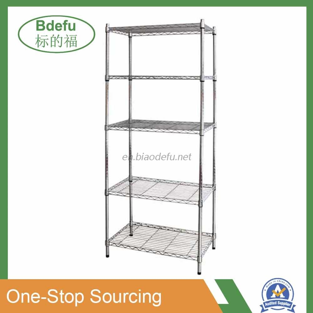 5 Tire Wire Shelving Rack