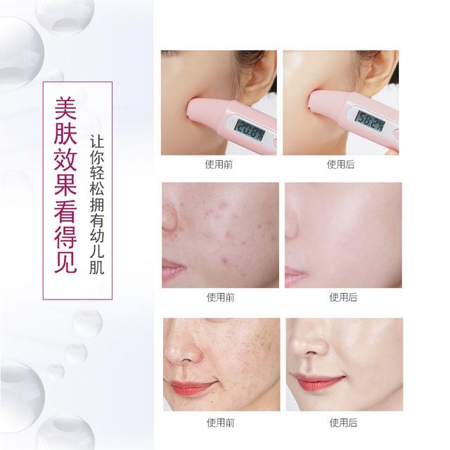 廠家現貨批發定制多肽駐顏面膜提拉滋養嫩膚玻尿酸面膜oem4