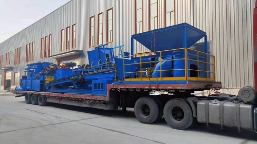 Yunnan Yuxi, Jiaozhou shot blasting machine equipment shipped