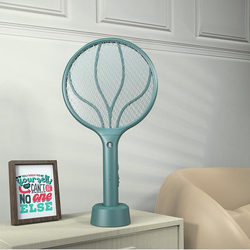 DN-Li2088-圓-綠電蚊拍