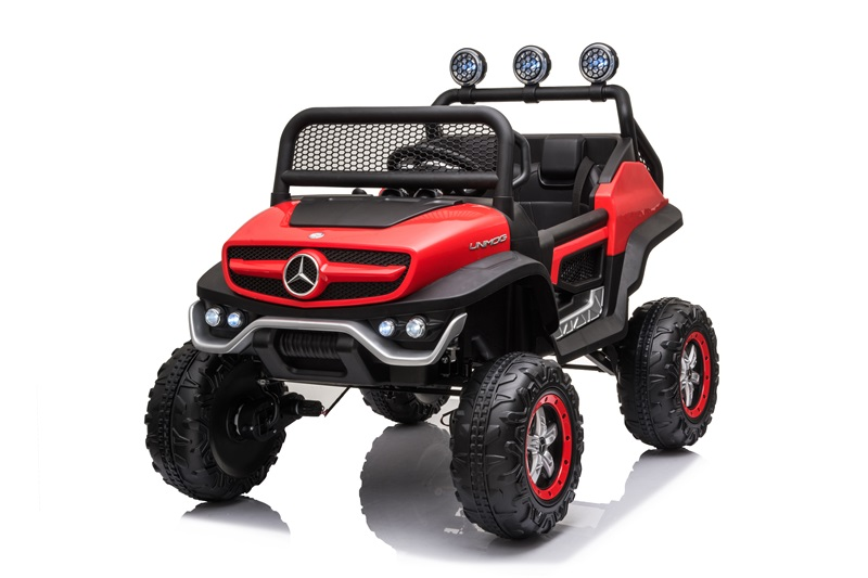 UNIMOG(small) (Injection Red)