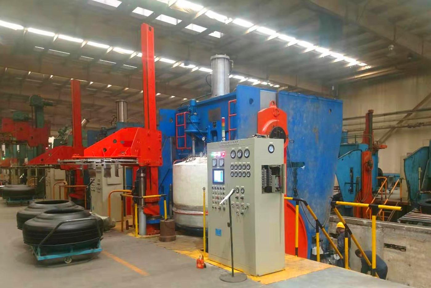 單模機械平移式硫化機 (1)