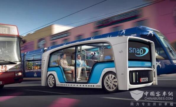 New Flyer與Robotic Research合作自動駕駛客車技術