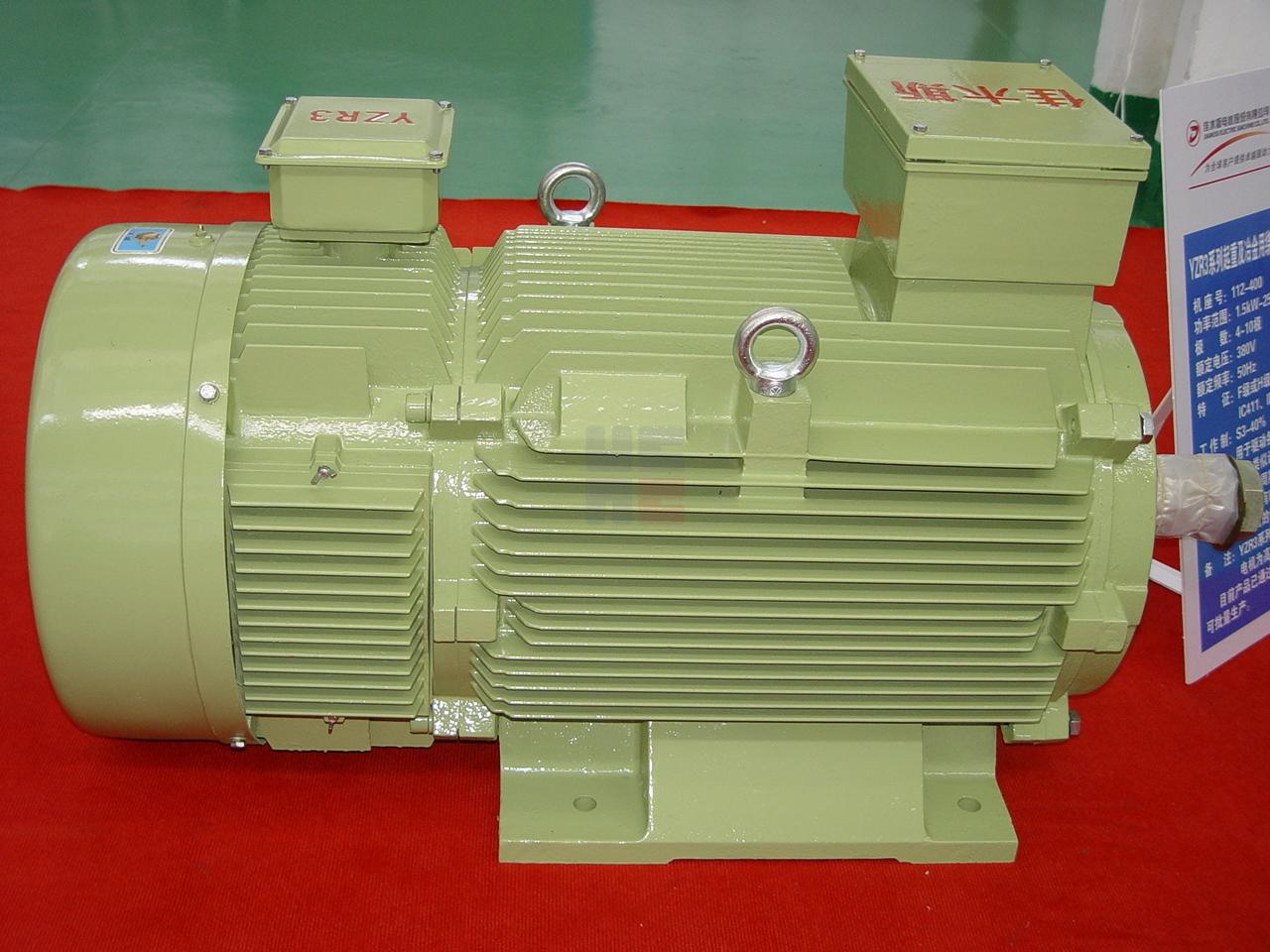 YZR3系列起重及冶金用绕线转子三相异步电动机(机座号112-400)
