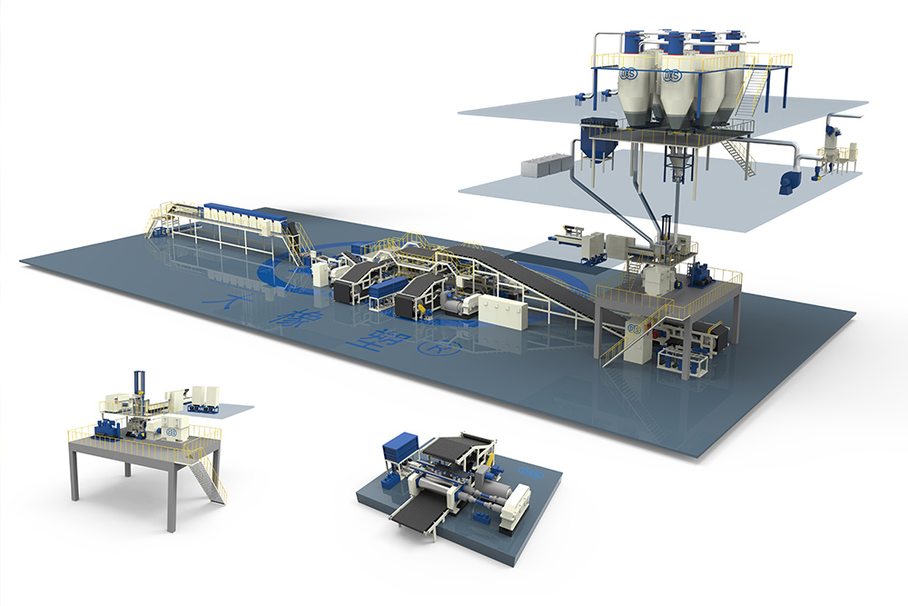 Automatic Mixing Line