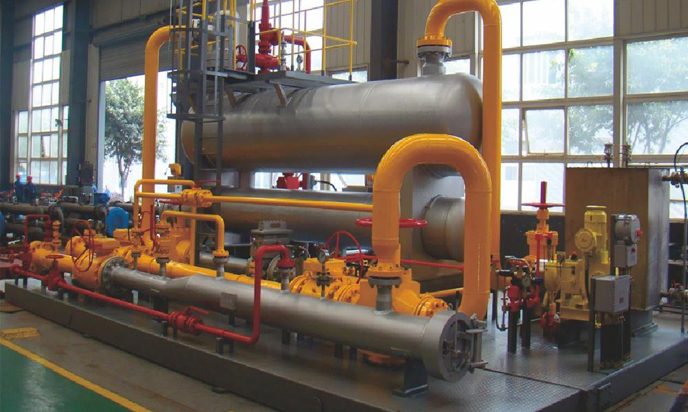 100萬方井口一體化集成裝置