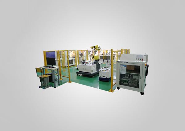 工業機器人碼垛搬運考核工作站