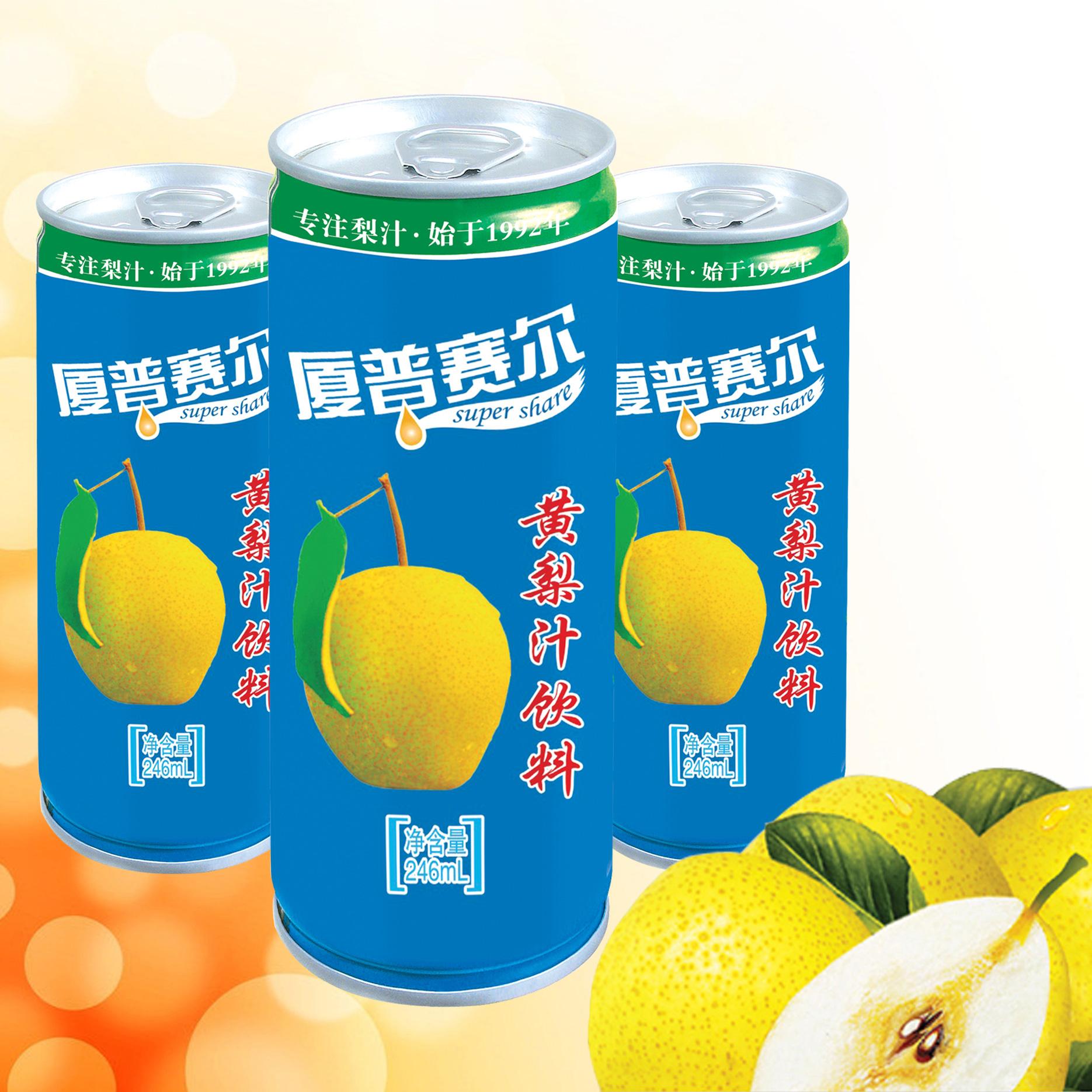 200易拉罐黃梨汁飲料