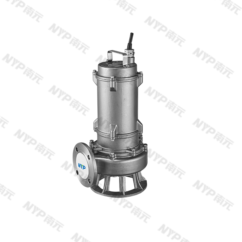 All stainless steel sewage sewage submersible pump WQF