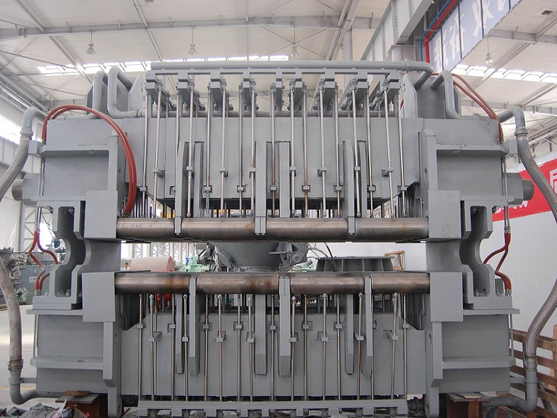 Continuous casting bending section