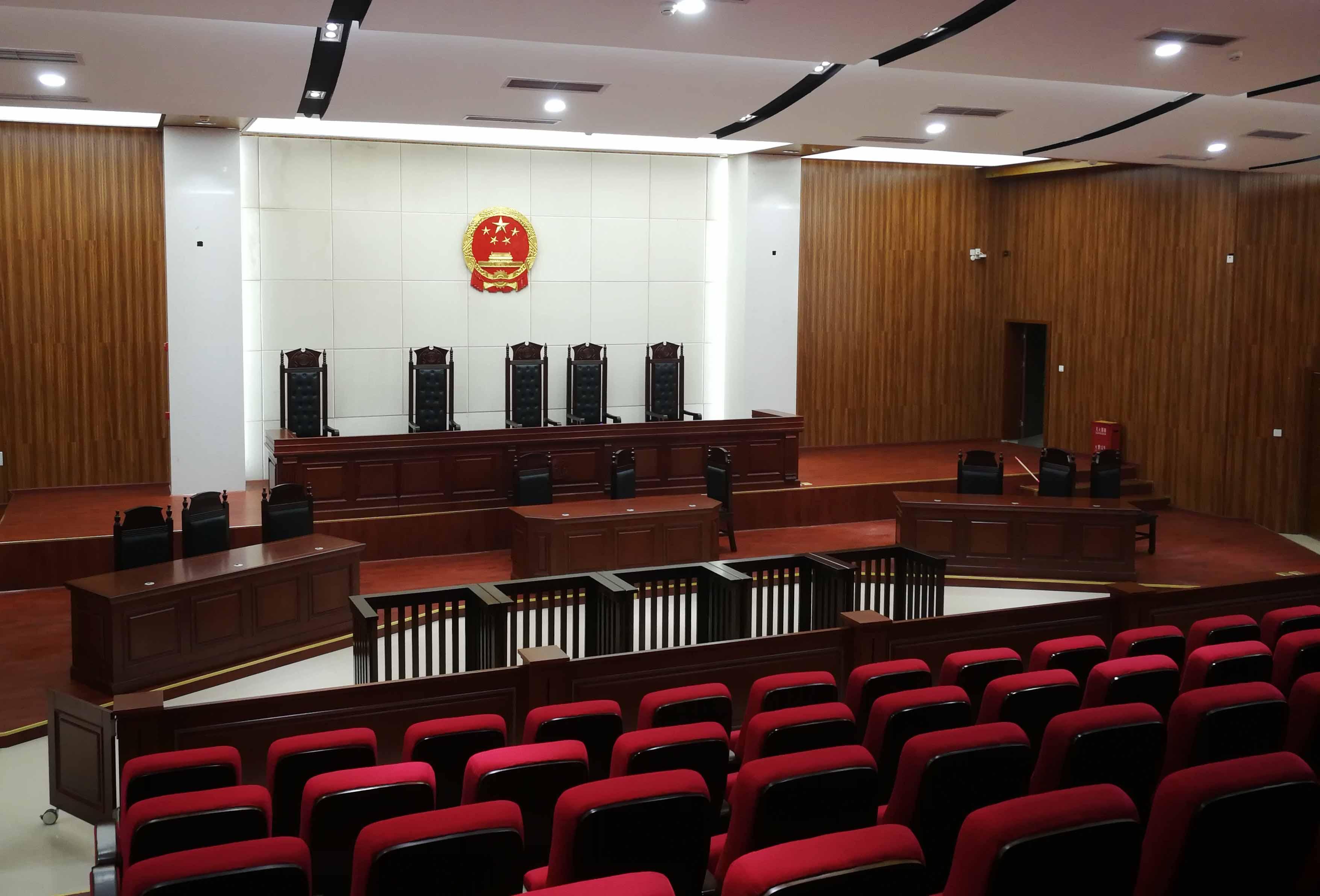 我司承建的巴中市通江县人民法院审判法庭项目 顺利通过竣工验收