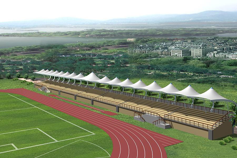 全南縣新建第二中學體育運動場項目