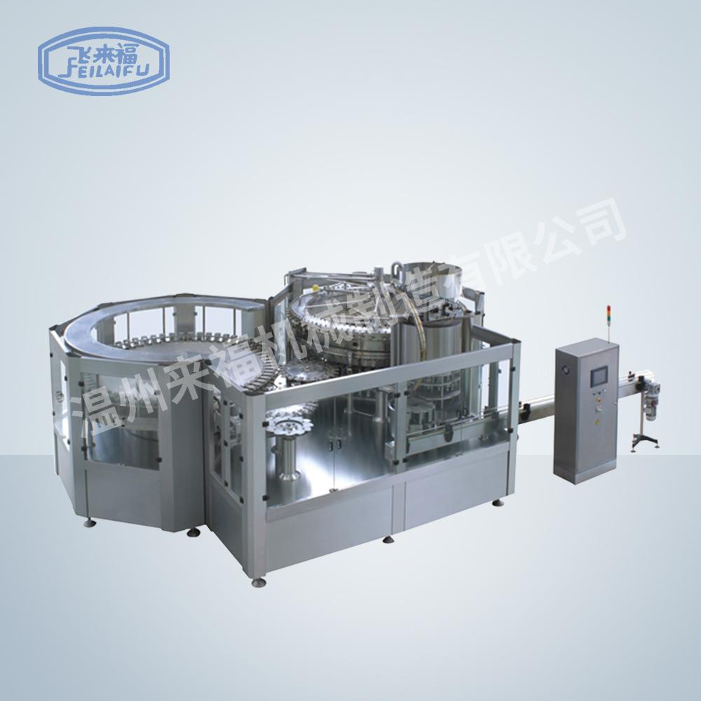 JR72-72-16D 30000B/H沖瓶灌裝旋蓋三合一機組