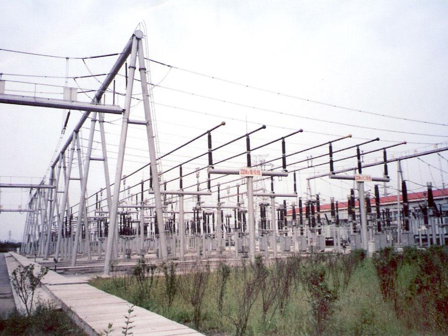 220KV變電站構架