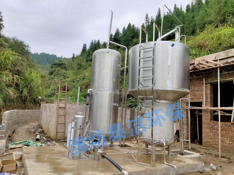 江西吉安200噸/天凈水設備調試完成