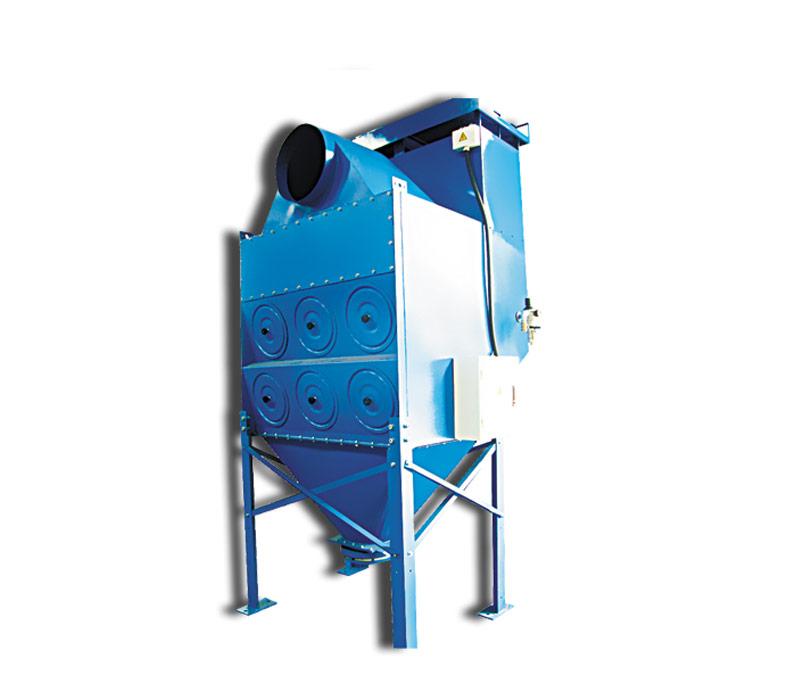 JF921-摩擦材料濾筒除塵器