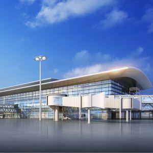 濟南遙墻國際機場航站區擴建北指廊工程