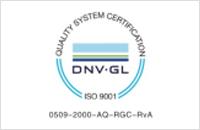 DNV-GL ISO9001:2015管理体系认证证书
