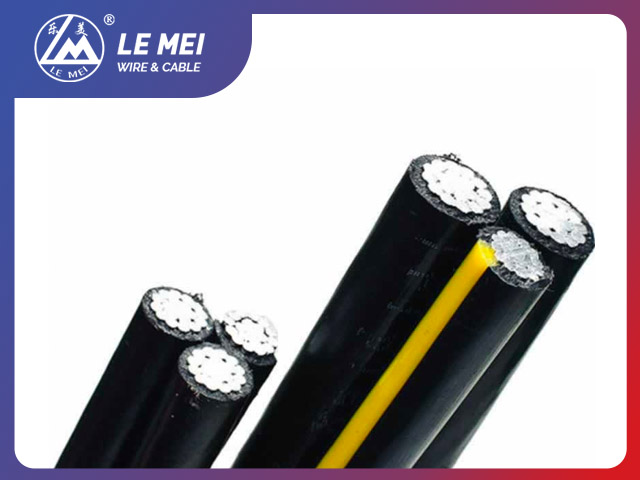 600V Triplex Conductor URD Cable