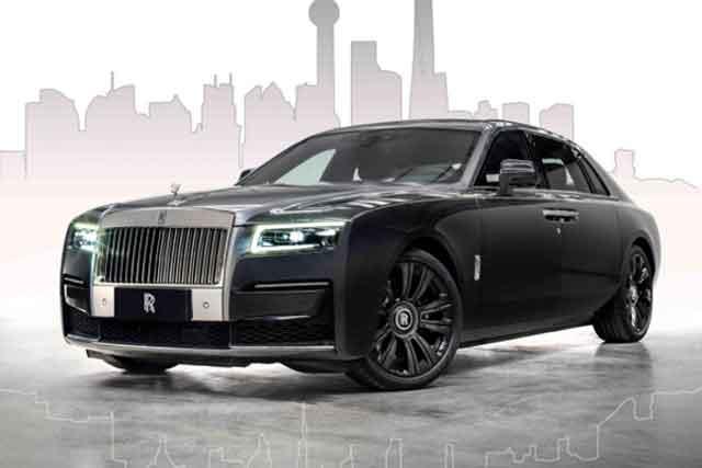 """勞斯萊斯古思特""""逸境""""特別版 2021上海國際汽車工業展覽會全球首秀"""