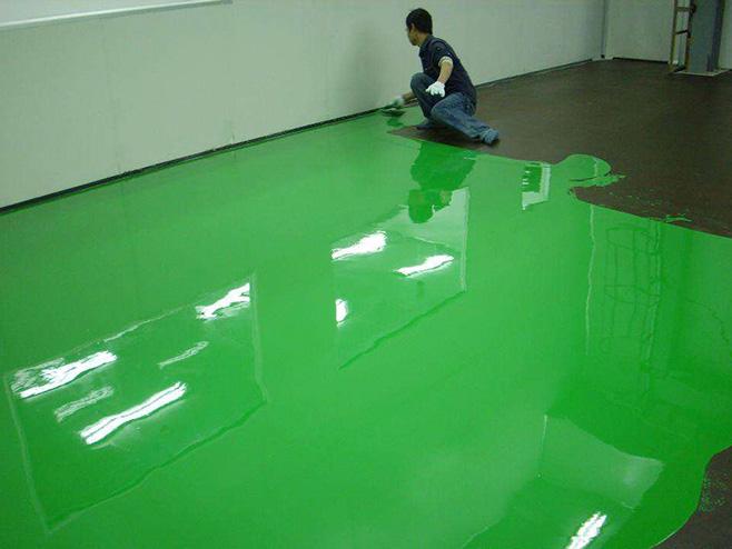 環氧樹脂自流平面涂施工