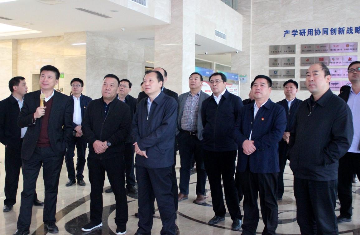 副省长刘伟莅临火狐体育直播平台公司调研