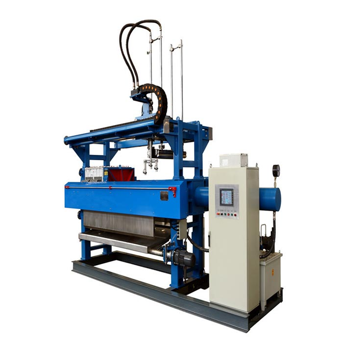 800mmx800mm fully automatic filter press with cloth washing system