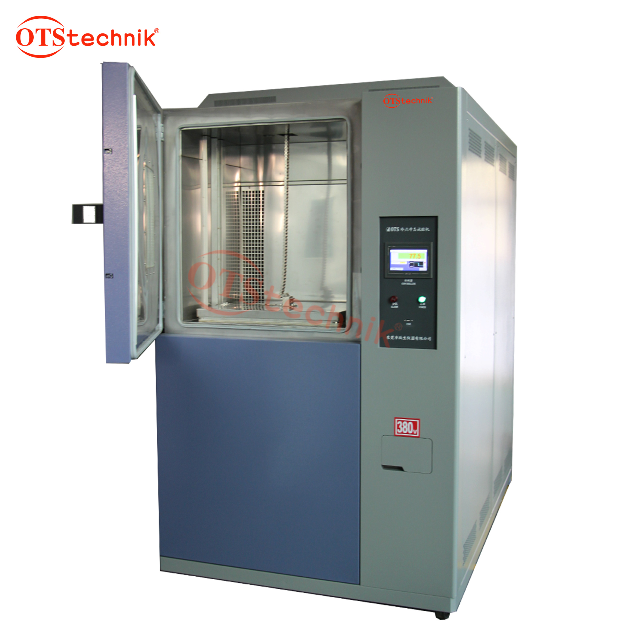 Two-box thermal shock test chamber