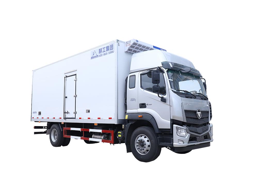 6.8米福田歐航平頂 國五款冷藏車