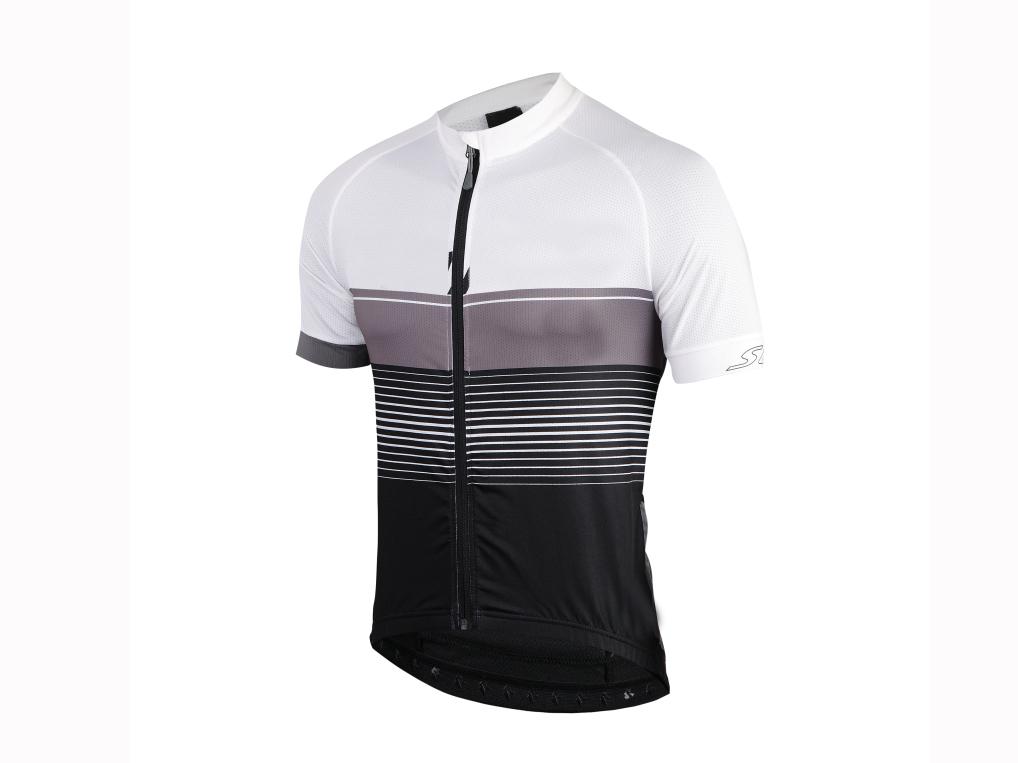 Men's knitted bicycle short sleeve quick dry shirt
