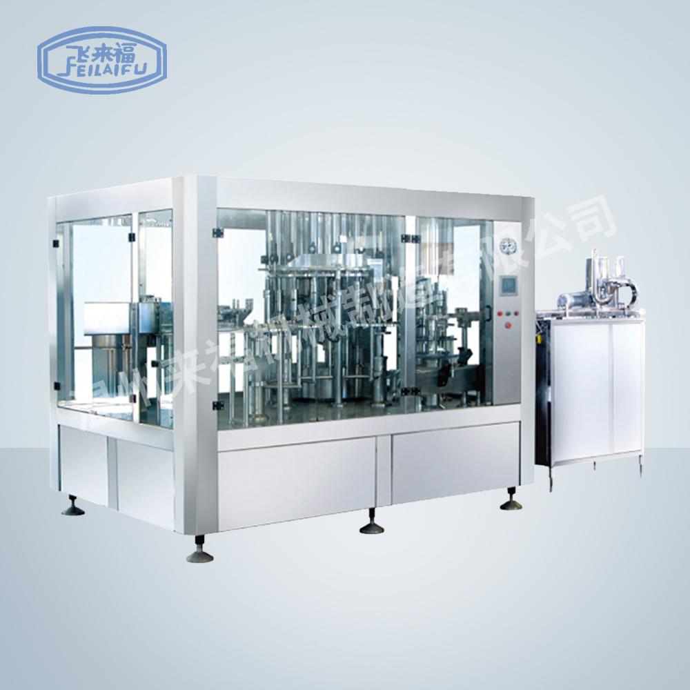 JR18-18-6 8000 B/H沖瓶灌裝旋蓋三合一機組