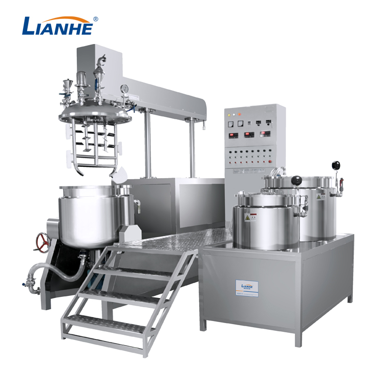 VME-250L Vacuum Emulsifying Mixer-Buttom Homogenizer Design