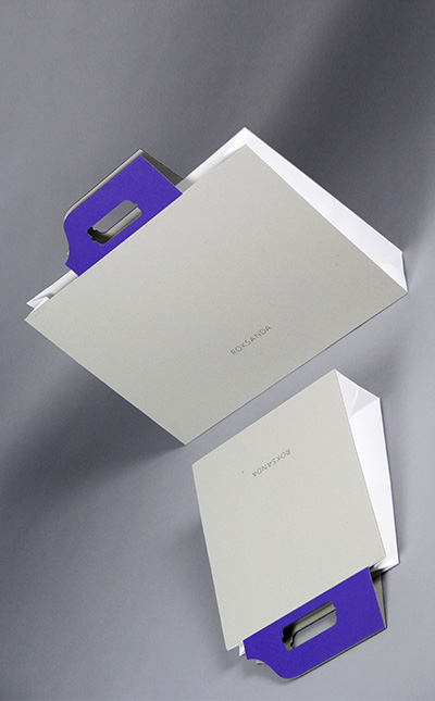 ROKSANDA Manufacturer wholesale custom luxury paper packaging gift box