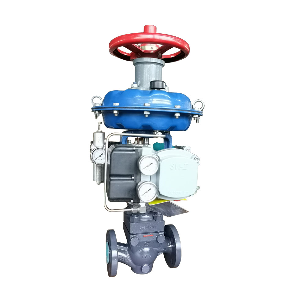 Single seat control valve MZ series