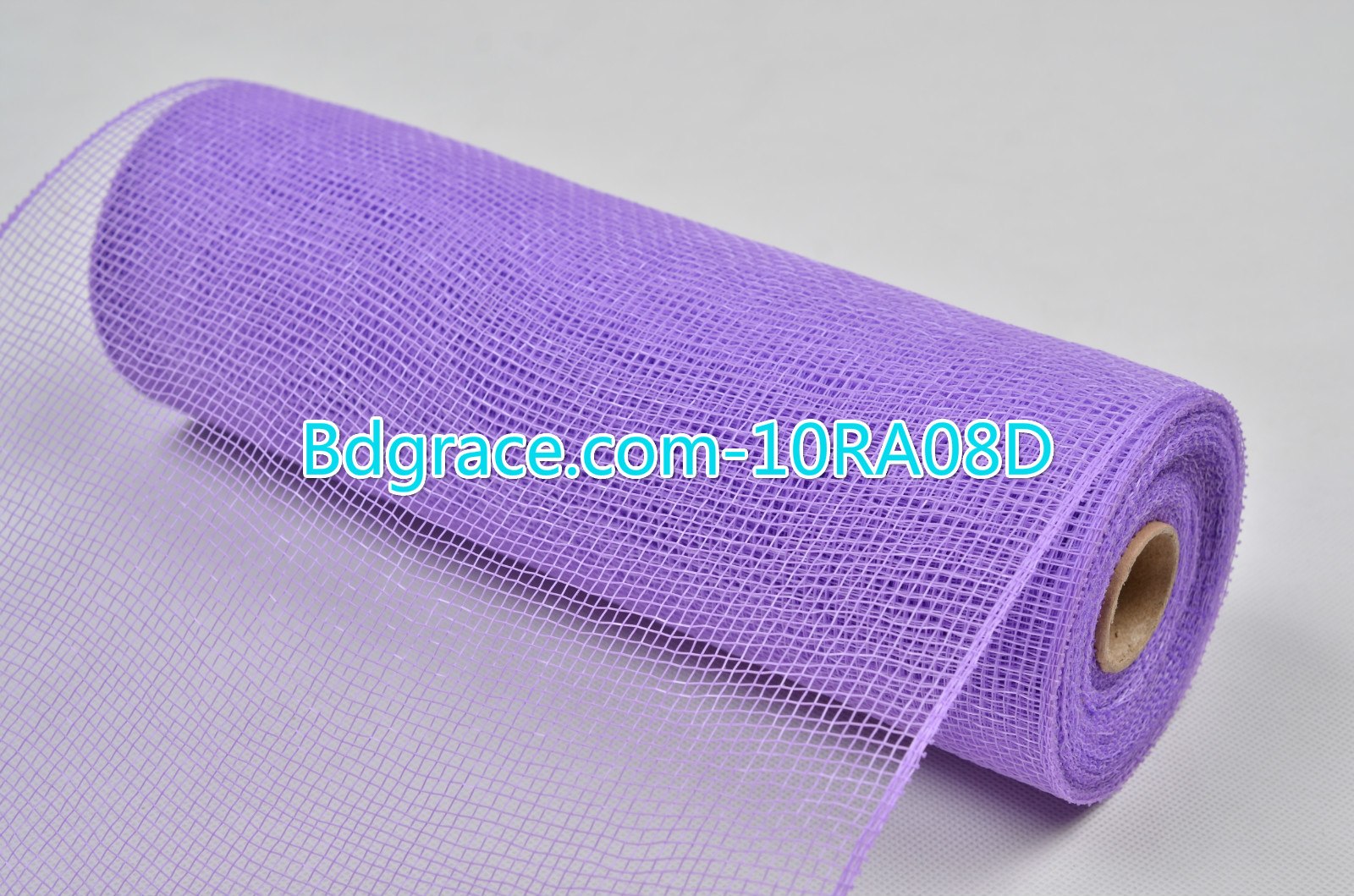 10inch Plain Solid Mesh 10RA08D Mid Purple