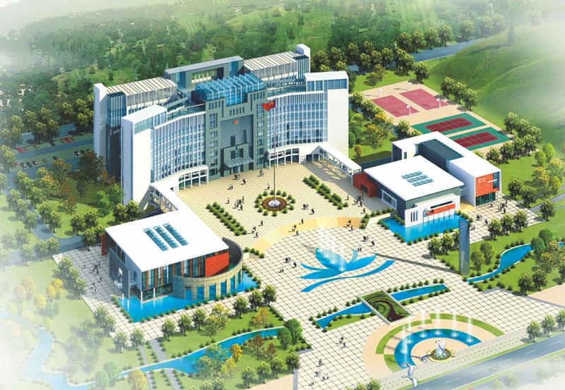 江西省赣州市石城县城市政中心