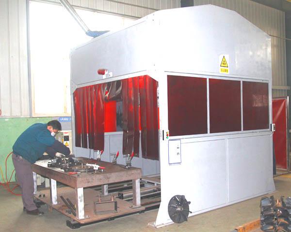 碳鋼機器人焊接