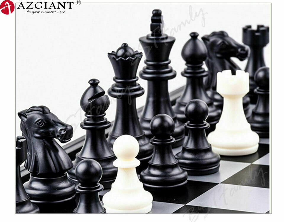 Folding chess set 3 in 11