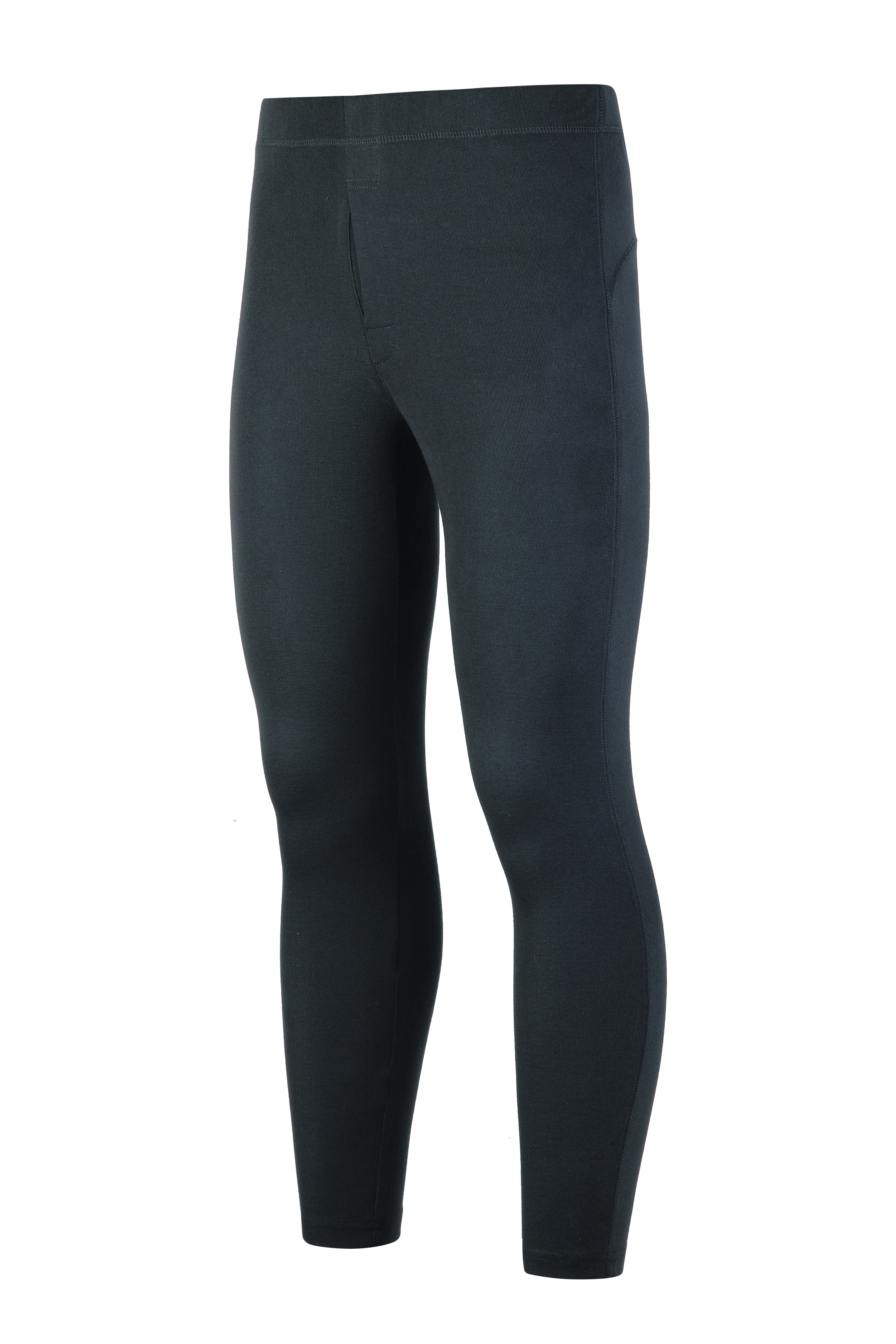 Men's knitted compression pants.