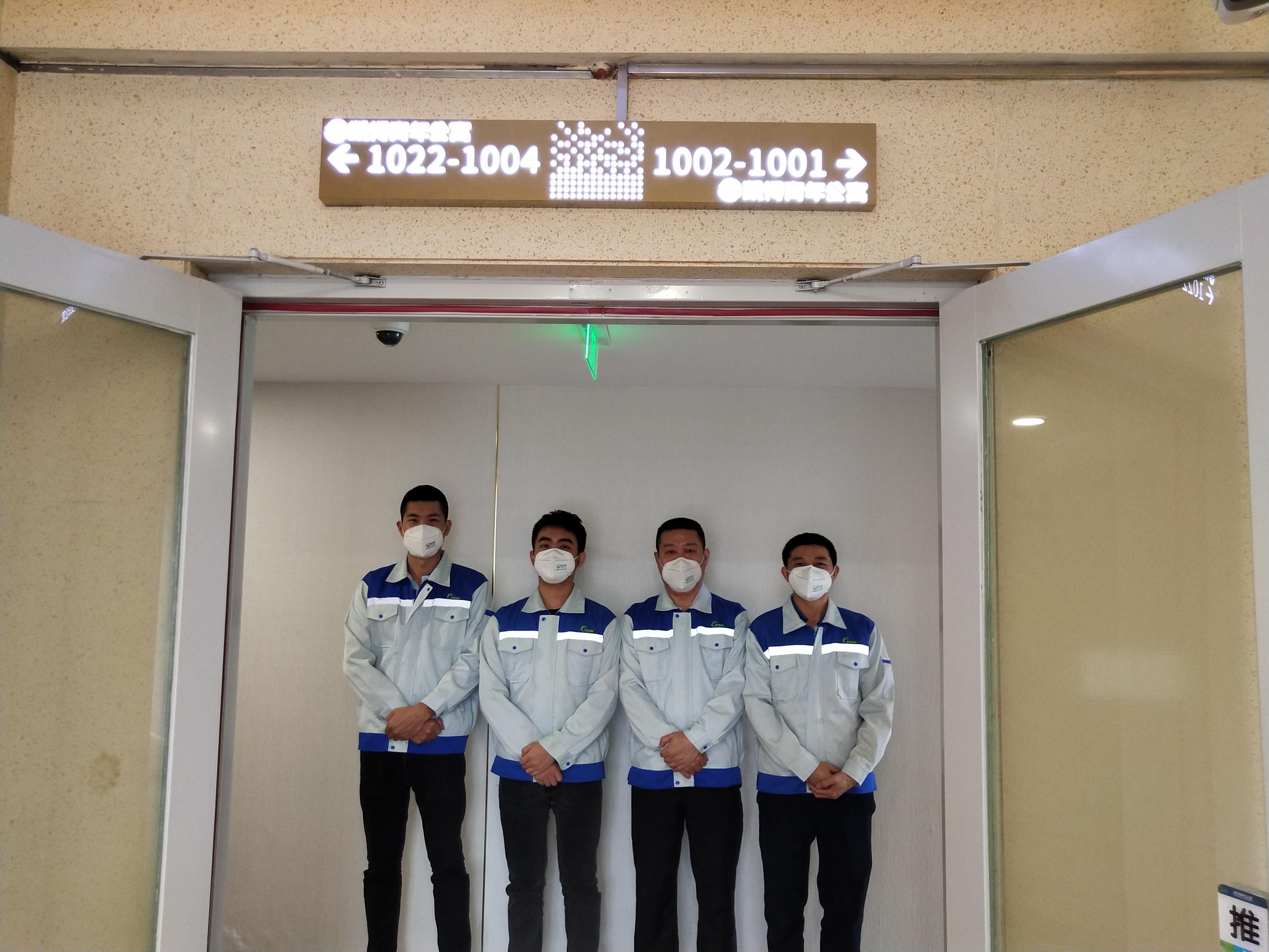 凱得青年公寓5000+方空氣治理