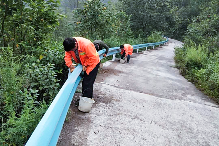 2020年威雅交通簽約開陽縣波形護欄工程170余公里