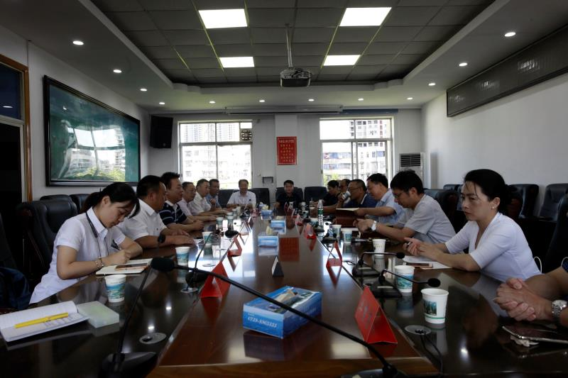 省現代農業集團黨委書記、董事長許維一行到邵陽市調研
