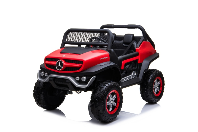UNIMOG plastic red