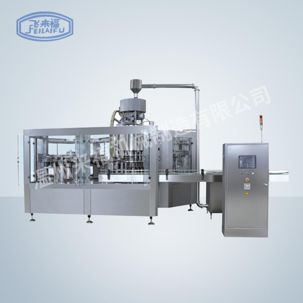 JR50-50-12D 18000B-H沖瓶灌裝旋蓋三合一機組