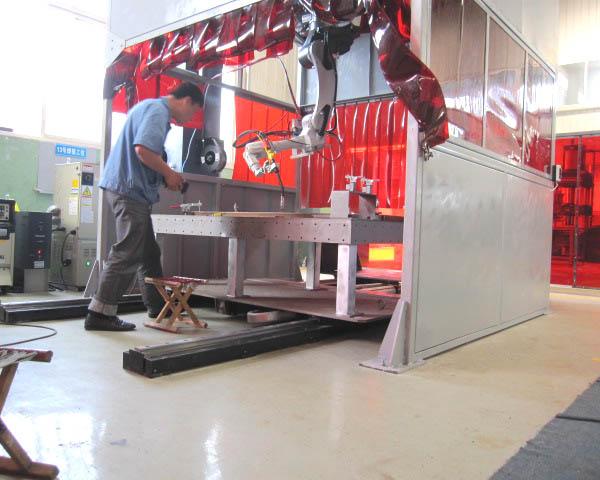 軌道產品焊接