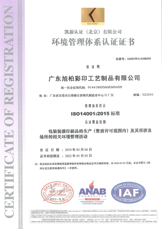 ISO14001-中文版