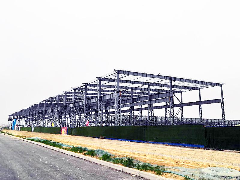 三門峽同人鋁業重型鋼結構廠房